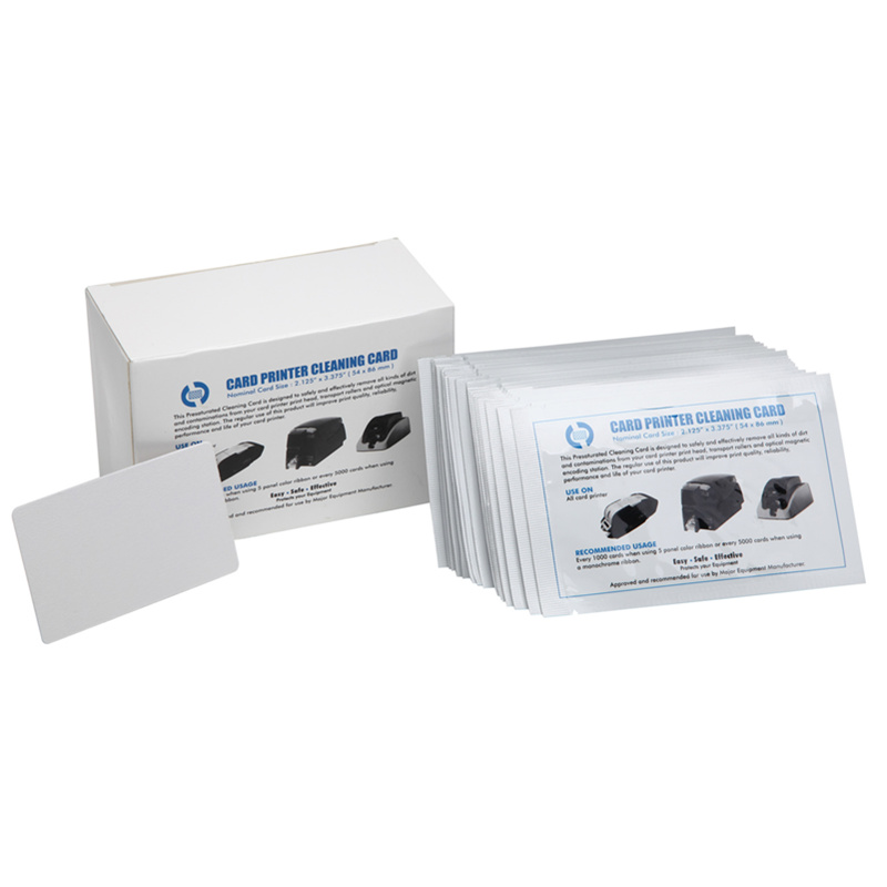 Card Reader Cleaning Card CR80