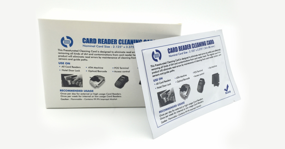 What's a cleaning card?