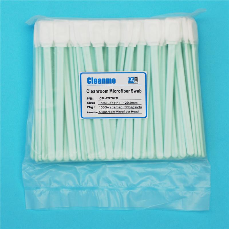 subsitute cleanroom OEM Disposable Microfiber Swabs Cleanmo