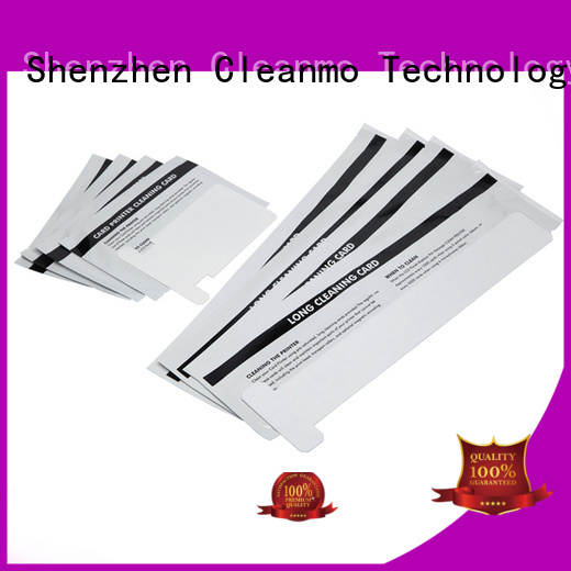 zebra printer cleaning cards series zebra cleaners Cleanmo Brand