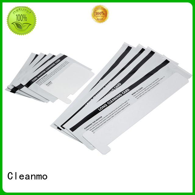 zebra printer cleaning cards card PVC zebra cleaners polyester company